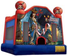 Pirates Of the Caribbean Bounce House