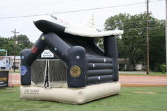 Space Shuttle Bounce House