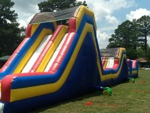 Obstacle Course Bounce Slide